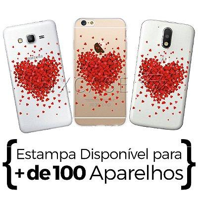 Capinha - Mini Corações