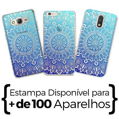 Capinha - Mandala Azul