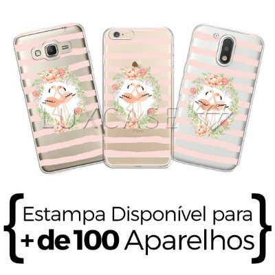 Capinha - Sweet Flamingos