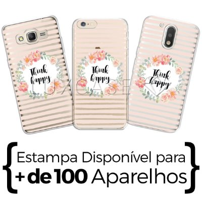 Capinha - Think Happy - Pense Feliz