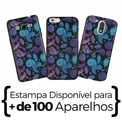 Capinha - Ornamentos Colors - Black