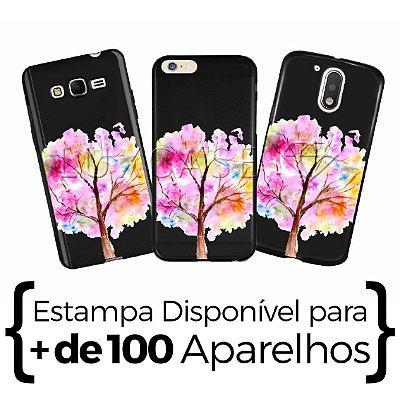Capinha - Árvore Aquarela - Black