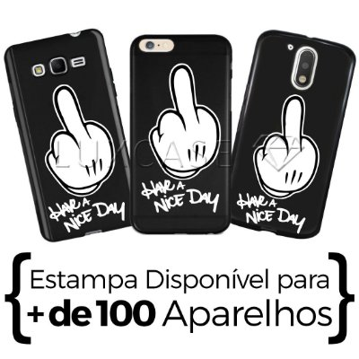 Capinha - Have A Nice Day - Black