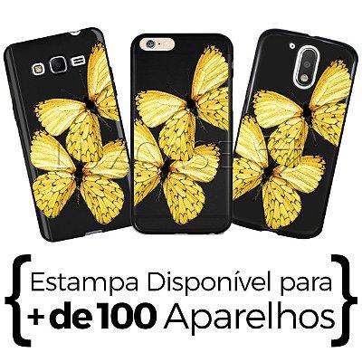 Capinha - Borboletas Amarelas - Black