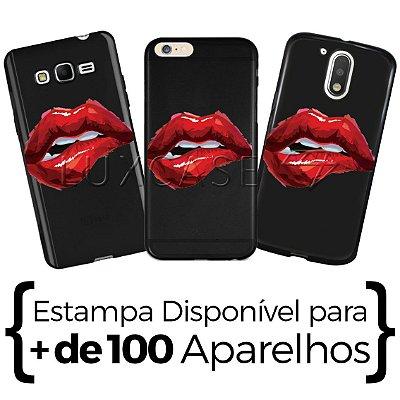 Capinha - Lábios - Black