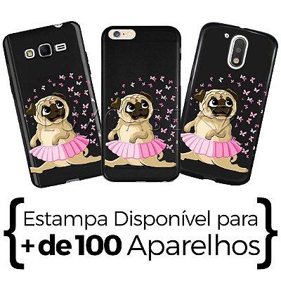 Capinha - Pug Ballet - Black
