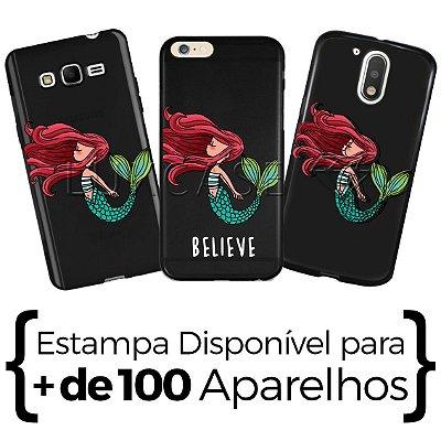 Capinha - Belive Sereia - Black