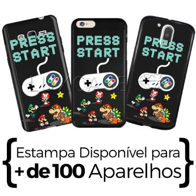Capinha - Pres Start - Black