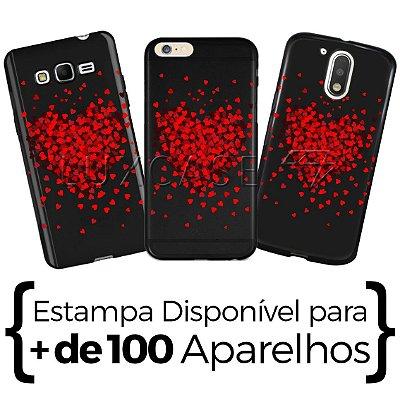 Capinha - Mini Corações - Black