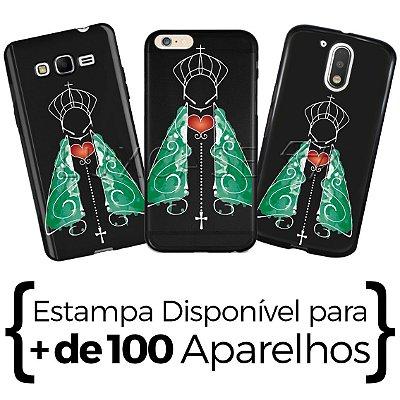 Capinha - Nossa Senhora Manto Verde - Black