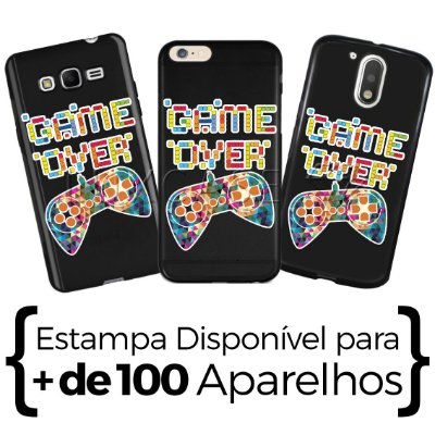 Capinha - Game Over - Black
