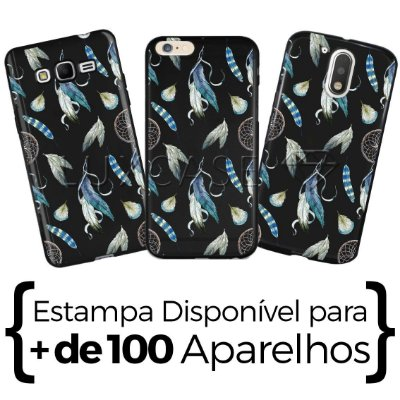 Capinha - Penas Azuis - Black