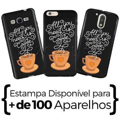 Capinha - All You Need Is Coffee - Black
