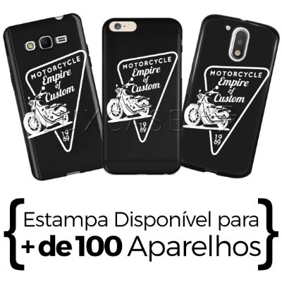Capinha - Motorcycle - Black