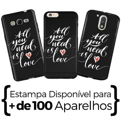 Capinha - All You Need Is Love - Black
