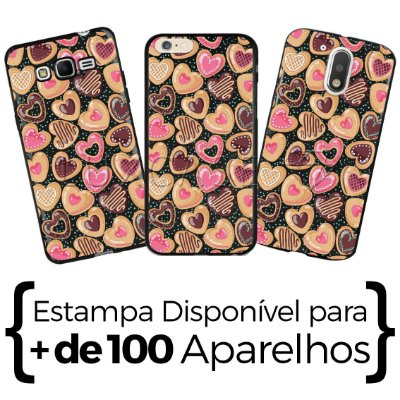 Capinha - Love Donuts- Black