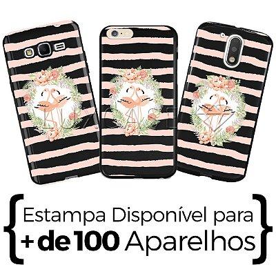 Capinha - Sweet Flamingos - Black
