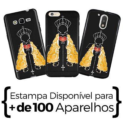 Capinha - Nossa Senhora Manto Amarelo - Black