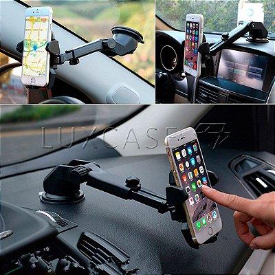 Suporte para GPS e Smartphone para Carro - Long Neck