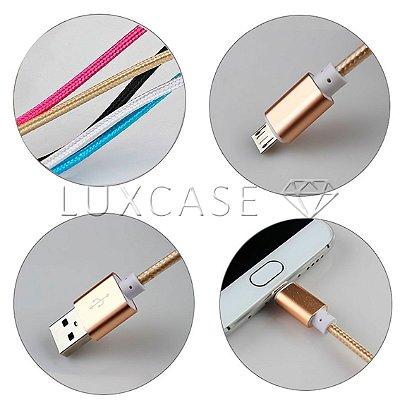 Cabo de Dados Corda Micro USB/V8 - Kingo