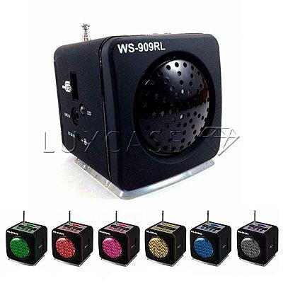 Caixa de Som Portátil Modelo WS-909RL