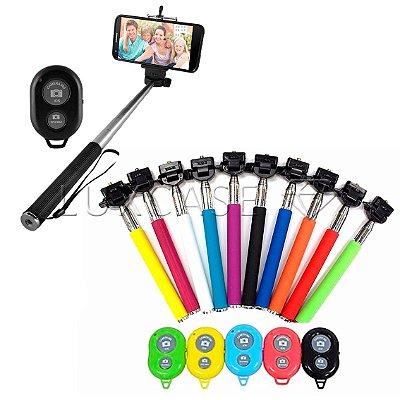 Bastão para Selfie - Monopod com Controle Remoto