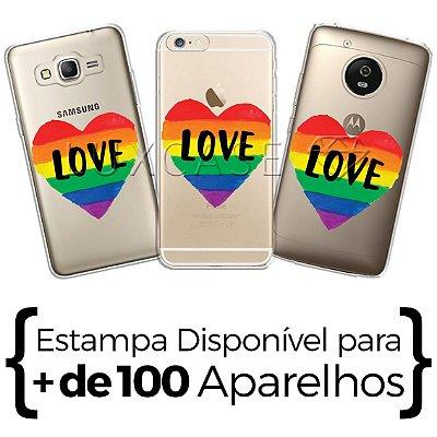 Capinha - Love Arco-Iris