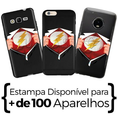 Capinha Camisa Flash - Black