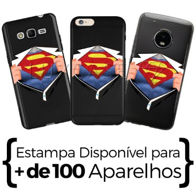 Capinha Camisa Superman - Black