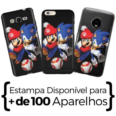 Capinha Personagens Video Game - Black