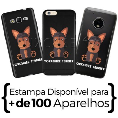 Capinha York Terrier - Black