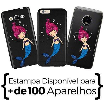 Capinha Sereia - Black