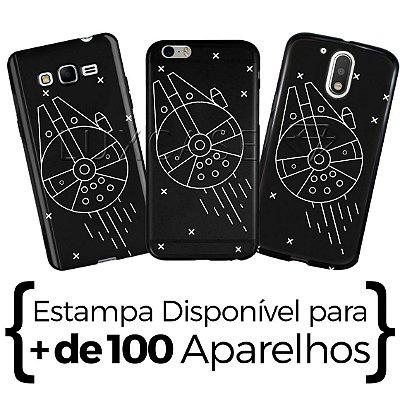 Capinha - Millenium Falcon - Black