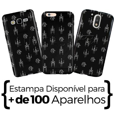 Capinha - Pattern Naves - Black