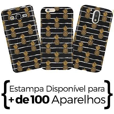 Capinha - Abacaxi Listras - Black