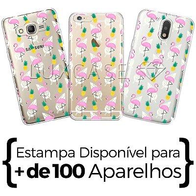 Capinha - Flamingo Abacaxi