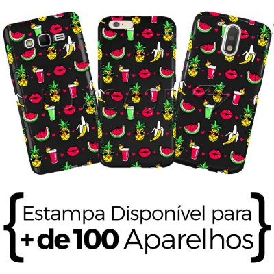 Capinha - Patch Tropical - Black