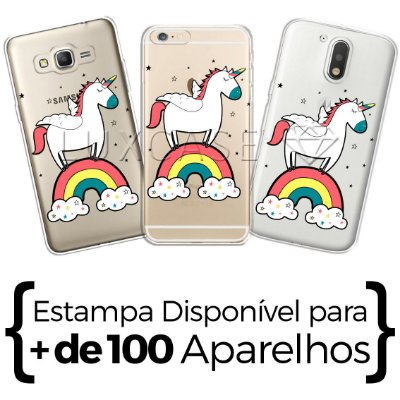 Capinha - Unicórnio Rainbow