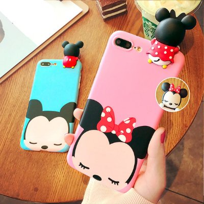 Capinha de Silicone 3D Cute Cartoon