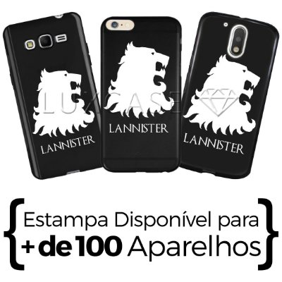 Capinha - Casa Lannister - Black