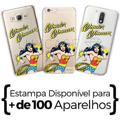 Capinha - Wonder Woman