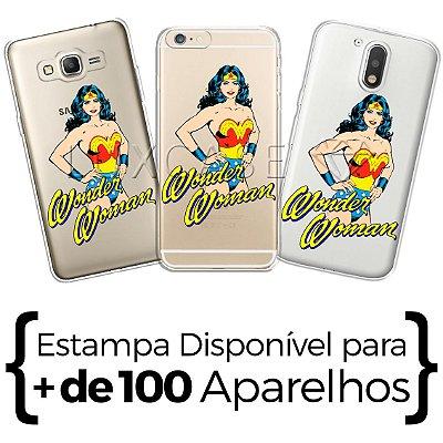 Capinha - Mulher Maravilha Retro