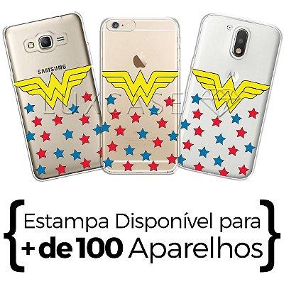 Capinha - Estrelas Mulher Maravilha