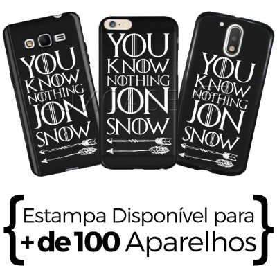 Capinha - You Know Nothing Jon Snow - Black