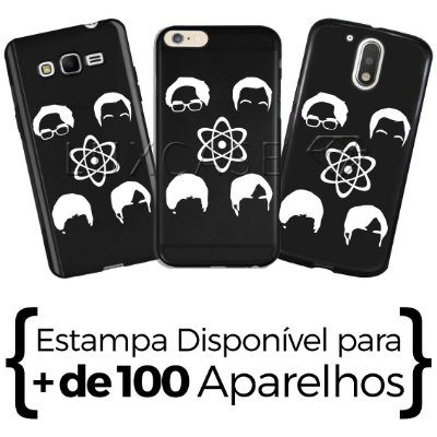 Capinha - Personagens Big Bang Teory - Black