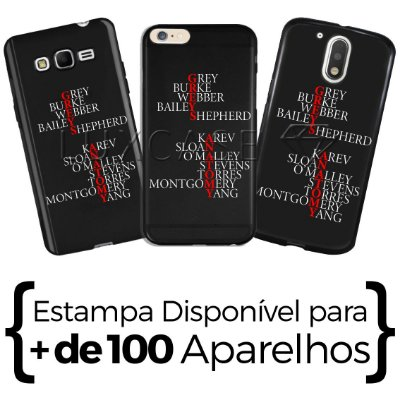 Capinha - Greys Anatomy - Black