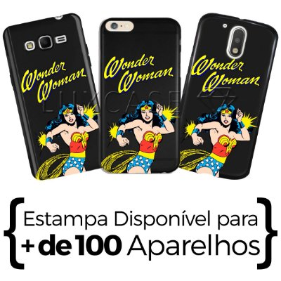 Capinha - Wonder Woman - Black