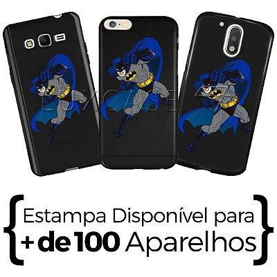 Capinha - Homem Morcego Capa - Black