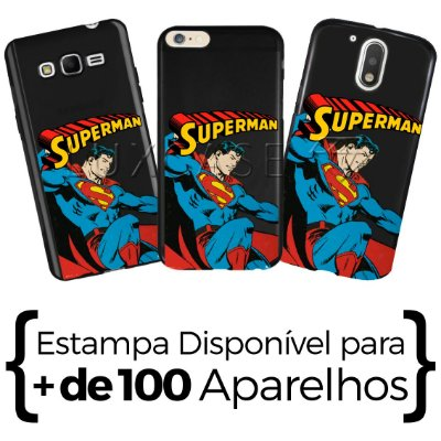 Capinha - Superman Retro - Black