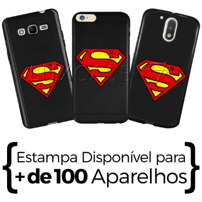 Capinha - Símbolo Superman - Black